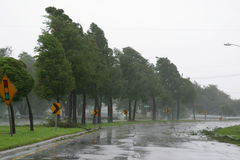 Hurricane Gustav Stock Photo