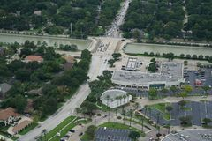 Hurricane Harvey Impacts - Aftermath. Aerial views of the areas impacted by Harvey Stock Photo
