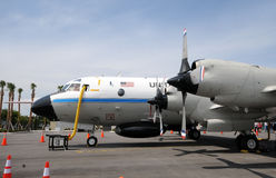 Hurricane hunter airplane Royalty Free Stock Photography