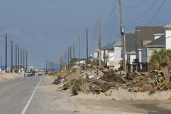 Hurricane Ike Aftermath Stock Image