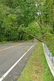 Hurricane Irene aftermath in the Philadelphia area Stock Image