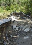 Hurricane Irene Damage in Bethel Royalty Free Stock Images