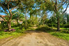 Hurricane Irma Aftermath Stock Photos