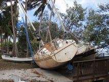 Hurricane Irma Damage Stock Photo