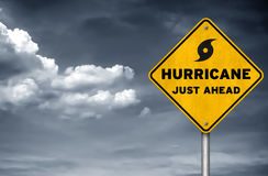 Hurricane just ahead Stock Images