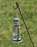 Hurricane Lamp. Stock Photo