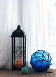 Hurricane lantern Royalty Free Stock Image