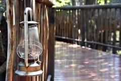 Hurricane lantern stock photography