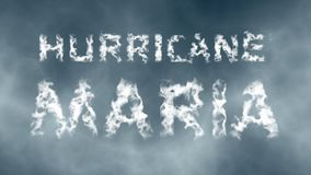 Hurricane Maria Royalty Free Stock Images