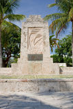 The Hurricane Monument Royalty Free Stock Photos