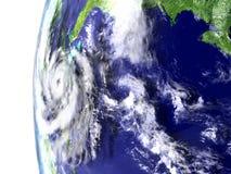 Hurricane near Florida Royalty Free Stock Photos