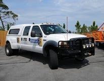Hurricane research vehicle Stock Photos