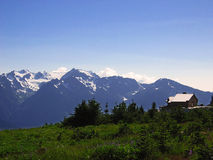 Hurricane Ridge stock photography