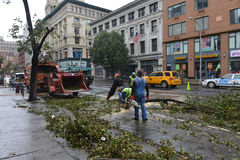 Hurricane Sandy Stock Image
