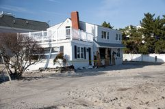 Hurricane Sandy aftermath Stock Photos