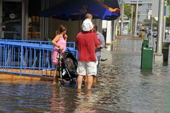 Hurricane Sandy Stock Photography