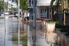 Hurricane Sandy Stock Photo