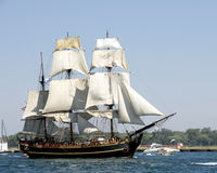 Hurricane Sandy - Sinking of HMS Bounty Stock Photography