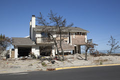 Hurricane Sandy - 1 Year Later Loch Arbour royalty free stock photos