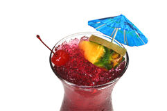 Hurricane Tropical Drink, Isolated stock photography