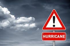 Hurricane warning Stock Photography