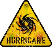 Hurricane warning Royalty Free Stock Photos