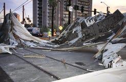 Hurricanes das alterações climáticas do aquecimento global Fotografia de Stock Royalty Free