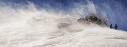 Hurrikan auf die Oberseite lizenzfreie stockfotos