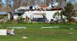 Hurrikan geschädigtes Haus