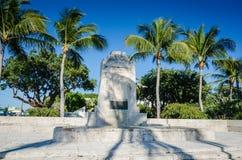 Hurrikan-Monument - Islamorada, Florida Lizenzfreies Stockfoto
