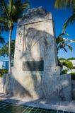 Hurrikan-Monument - Islamorada, Florida Lizenzfreie Stockfotos