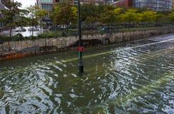 Hurrikan Sandy Stockfoto