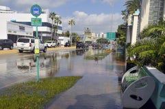 Hurrikan Sandy Stockbild