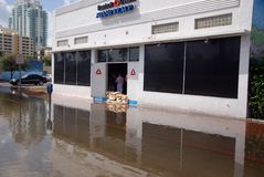 Hurrikan Sandy Lizenzfreie Stockbilder