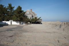 Hurrikan-Sandy-Nachmahd stockbild