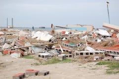 Hurrikan-Schaden lizenzfreies stockbild