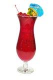 Hurrikan-tropisches Getränk, getrennt Lizenzfreie Stockfotos