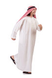 Hurring arab man Royalty Free Stock Photography