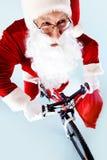 Hurry for Christmas Stock Photography