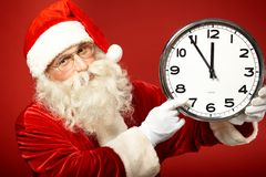 Hurry for Christmas Royalty Free Stock Photography