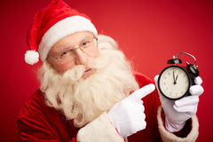 Hurry for Christmas Royalty Free Stock Photo