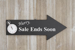 Free Hurry Sale Ends Soon Sign Royalty Free Stock Photo - 94143355