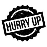 Hurry Up rubber stamp Royalty Free Stock Photos