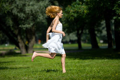 Hurrying Royalty Free Stock Photos