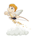 Hurrying angel Royalty Free Stock Images