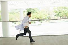 Hurrying doctor Stock Image
