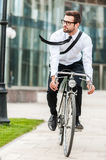 Hurrying to office. Stock Image