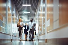 Hurrying for work Stock Photography