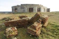 Hurst城堡,南面孔 库存图片