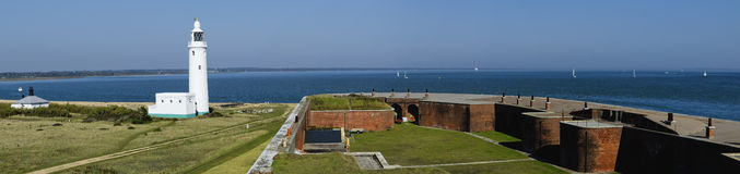Hurst castle Royalty Free Stock Images